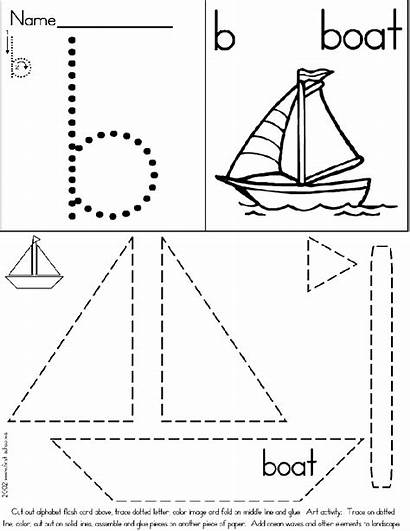 Boat Preschool Transportation Crafts Worksheets Craft Theme