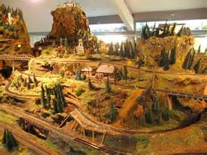 Railroad Model Train Layouts