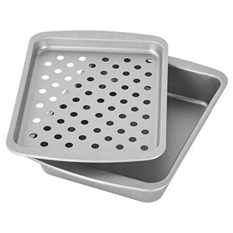 small broiler pan  rack amazoncom