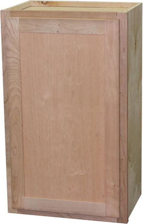 quality one 24 quot x 30 quot unfinished cherry standard wall