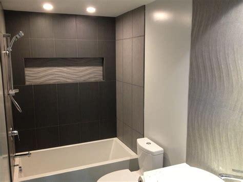 bathtub tile ideas Bathroom Traditional with bathroom
