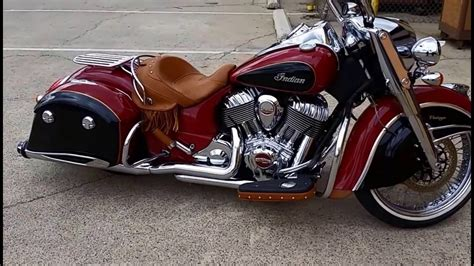 2016 Indian Chief Classic Air Ride Freedom Exhaust 21