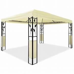 Pavillon 4x3 Wasserdicht : pavillon 3 x 4 m design gartenpavillon gartenzelt festzelt pavilion metall ebay ~ Watch28wear.com Haus und Dekorationen