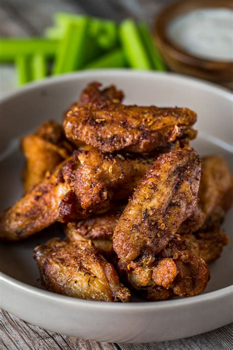 air fryer wings keto darius party cooks chicken jerk wing recipes cooking ribs recipe short oxtail bloglovin tray