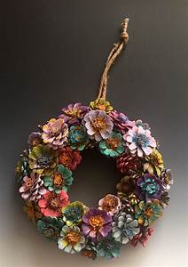 Pinecone, Flower, Wreath