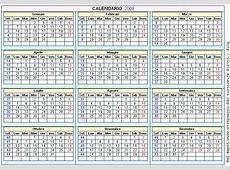 Calendario 2008 Imagui