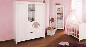 Kinderzimmer Schrank Weiß : kleiderschrank f rs kinderzimmer aus wei er fichte nina ~ Frokenaadalensverden.com Haus und Dekorationen