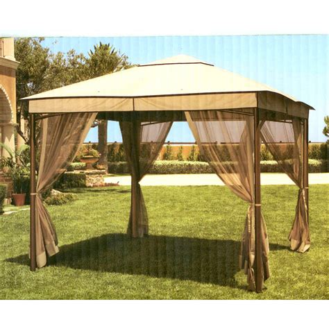 gazebo canopy kohls summer living 2009 canopy replacement corner pocket