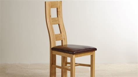 oak and leather dining chairs oak and leather dining chairs oak furniture land 7123