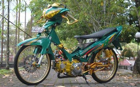 Modifikasi Jupiter Z 2008 Jari Jari by Modifikasi Jupiter Z 2019 Bergaya Road Race Dan Jari Jari