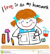 Image result for homework clipart
