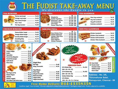 hotel menu card templates
