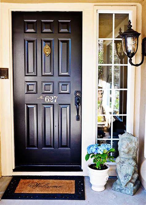 quick easy front door makeover   tidbitstwine