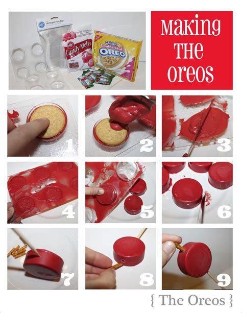 how to make chocolate covered oreos oreo quot apples quot for landon s back to school sock hop next week this is going to be a fun project