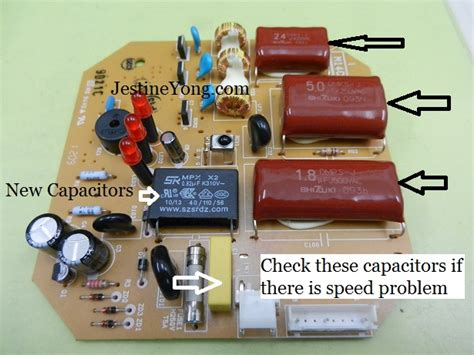Ceiling Fan Capacitor Replacement Malaysia by Panasonic Ceiling Fan Repaired Part 2 Electronics