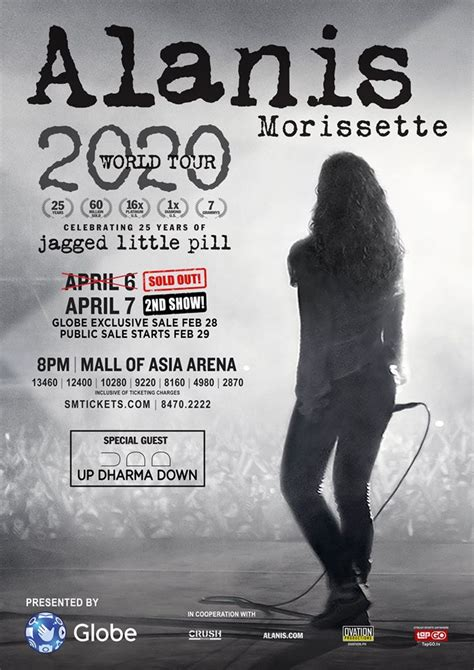 ALANIS MORISSETTE 2020 WORLD TOUR | Manila On Sale 2020