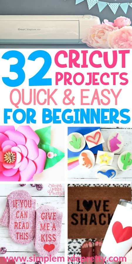easy cricut projects  beginners simple  pretty