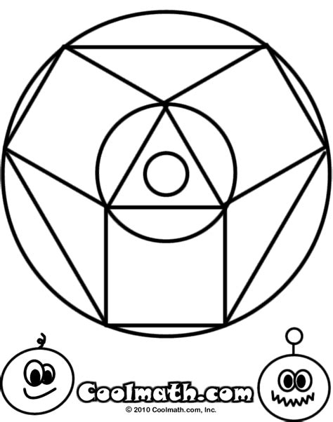 coloring pages sheets  kids  cool math games