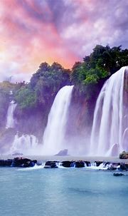 Beautiful Waterfall Wallpaper for iPhone X, 8, 7, 6 - Free ...