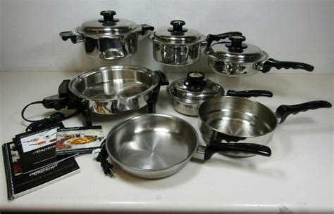 kitchen craft cookware kitchen craft americraft waterless 11 pc cookware set 1