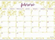 Imprimible Calendario febrero 2018 Paperblog