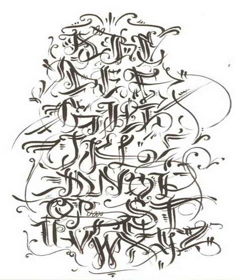 imagenes de abecedario en graffiti en 3d imagui