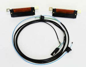 68 Mustang Wire Harnes by New 1967 1968 Mustang Lights Wire Harness Kit