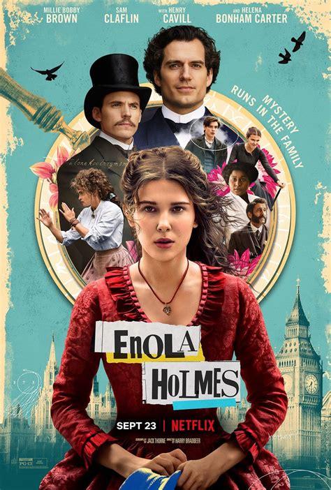 enola holmes bobby millie brown cartaz primeiro ganha filme enquanto detetive ela interpreta stranger introduzindo jovem titular estrela bradbeer things