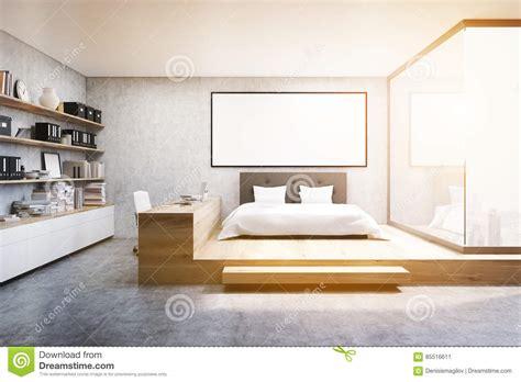 chambre vue de haut vue de du siège social dans la chambre à coucher