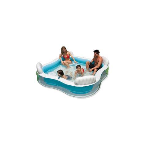 piscine avec siege piscine gonflable familiale avec sièges
