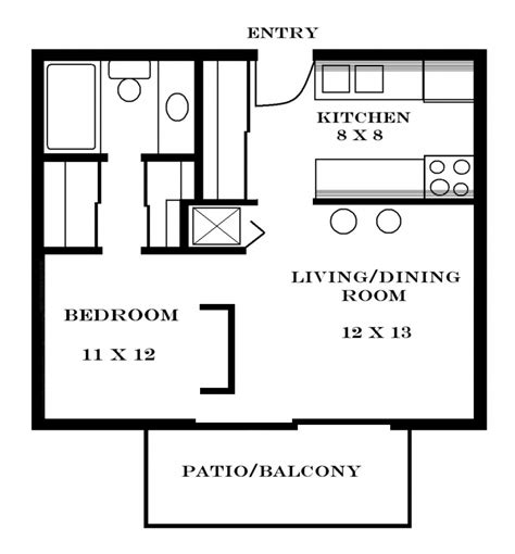 floor and decor plano small one bedroom apartment floor plans apartments