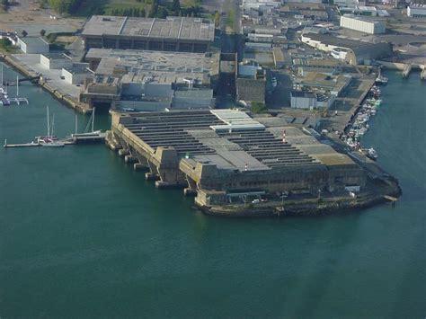 German U Boat Pens Brest by Lorient U Boat Base Lorient Category En Gb
