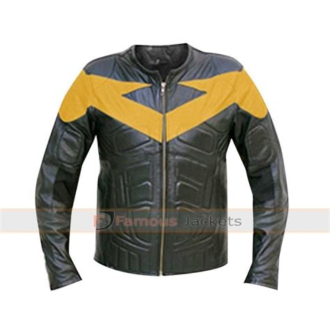 bike jackets for sale nightwing leather motorcycle jacket costume for sale