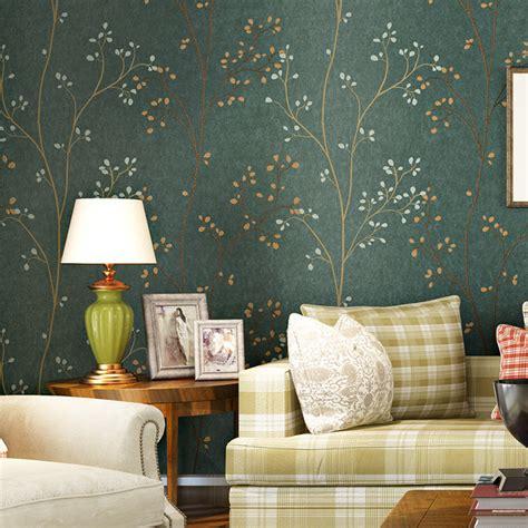 buy pastoral small tree  woven wallpaper  wall