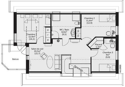 prix maison plain pied 3 chambres tentant plan maison catalogue plain pied