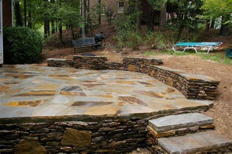 rock patio pictures 26 awesome stone patio designs for your home page 3 of 5
