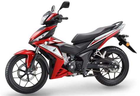 Honda Supra Gtr 150 Backgrounds by 2017 Honda Rs150r In New Colours From Rm8 478