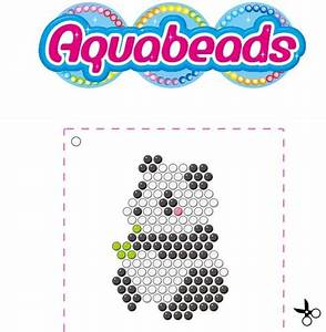 aquabeads panda template gyongyos pinterest pandas With free beados templates