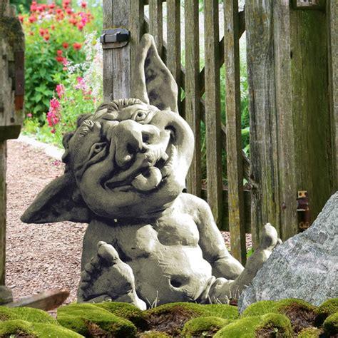 Lachende Garten Wichtel Skulptur  Frieso • Gartentraumde