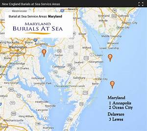 Maryland Burials at Sea | New England Burials at Sea