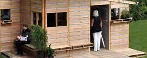 100 idees pour recycler des palettes b With maison en palette plan 12 comment faire un mur en bois de palette mzaol