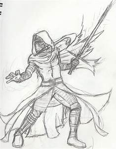 kylo ren sketch by winnicdm on deviantart With a6wiringjpg 8746 kb