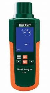 Extech Ct80 Ac Circuit Load Tester With Afci  Gfci