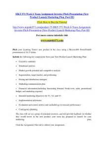 mkt 571 week 6 team assignment investor pitch presentation