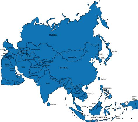 clipart europe asia map clipground