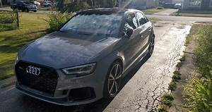 My 2020 Nardo Grey RS3. I went from a 2018 mustang gt to this and I couldn't be happier ...