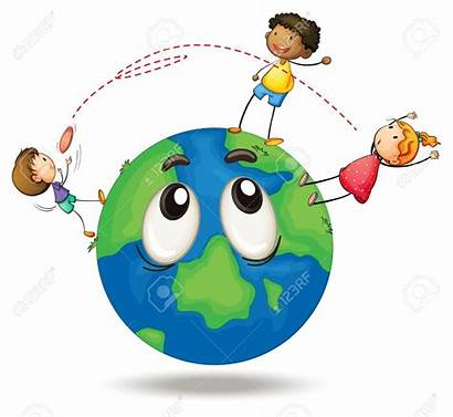 Terrestre Globe Clipart Playing Illustration Earth Disc