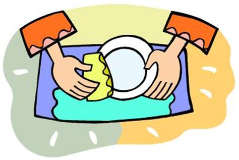 Washing Dishes Clipart On Pilgrimage Washing The Dishes