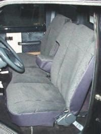 ford ranger  split bench seat  molded
