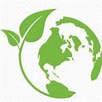 Earth Nature Eco Save Leaf Energy Icon